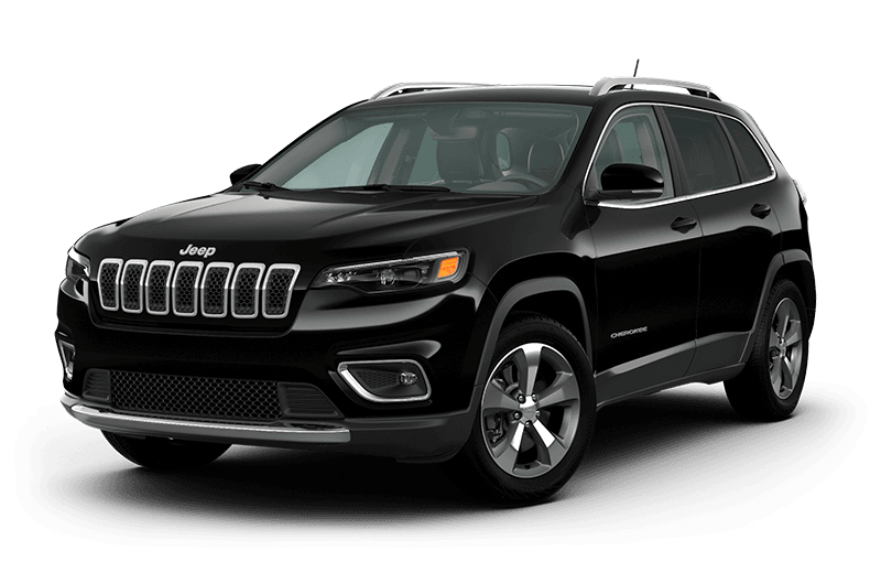 2021 Jeep® Cherokee Limited - Diamond Black Crystal Pearl