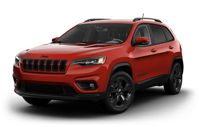2021 Jeep® Cherokee Altitude - Spitfire Orange
