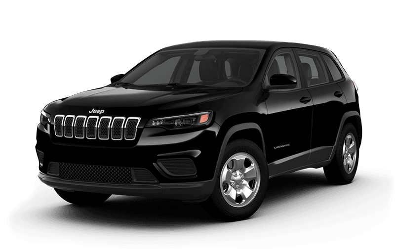 2021 Jeep® Cherokee Sport - Diamond Black Crystal Pearl