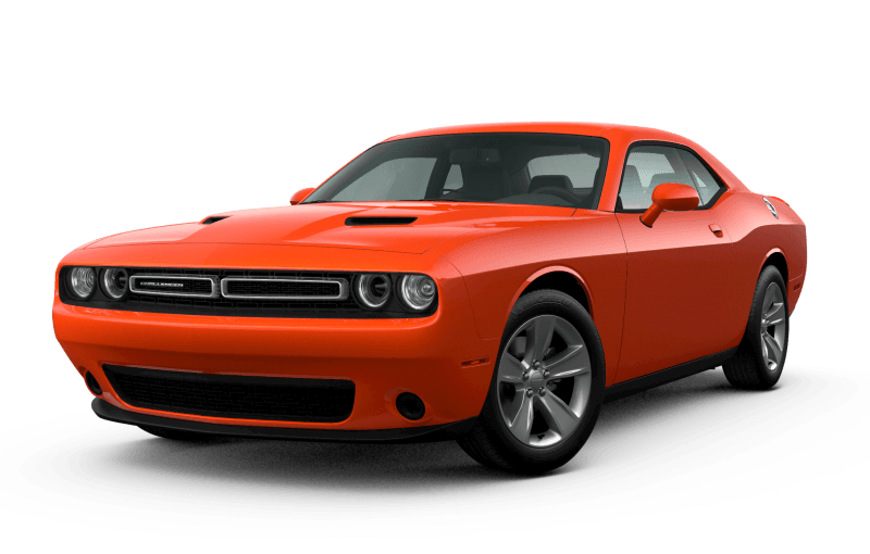 Dodge Challenger 2021 SXT - Orange Brûlé