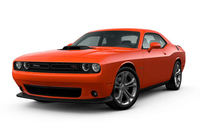 Dodge Challenger 2021 R/T - Orange Brûlé