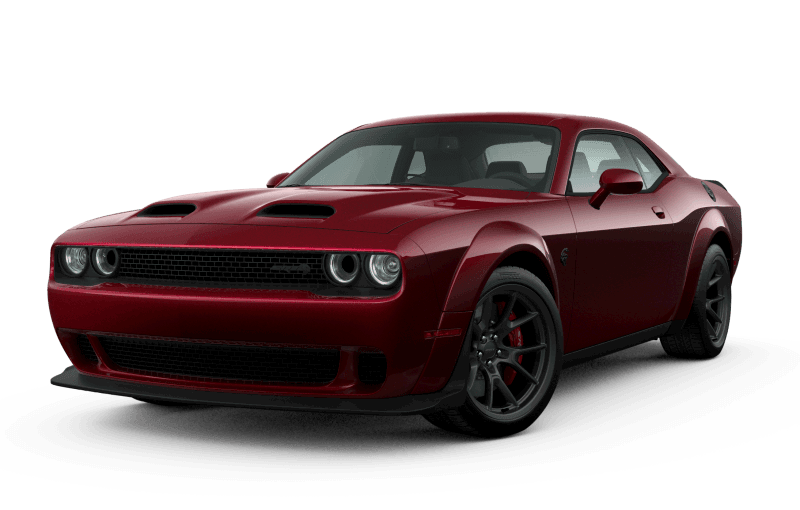Dodge Challenger 2021 SRTMD Hellcat Redeye Widebody - Rouge Intense