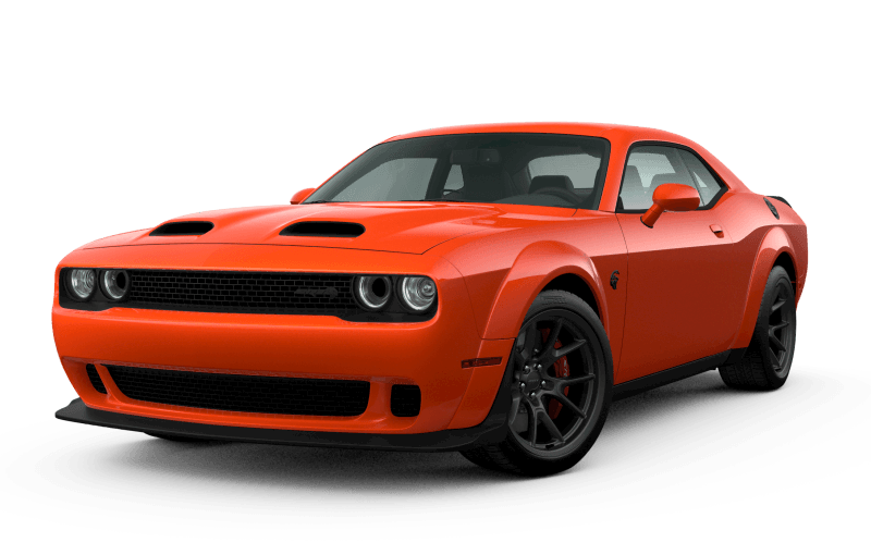 Dodge Challenger 2021 SRTMD Hellcat Redeye Widebody - Orange Brûlé