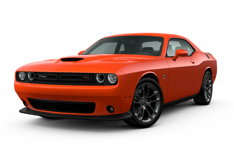 Dodge Challenger 2021 Scat Pack 392 - Orange Brûlé