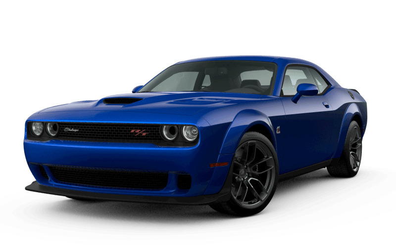 Dodge Challenger 2021 Scat Pack 392 Widebody - Bleu indigo