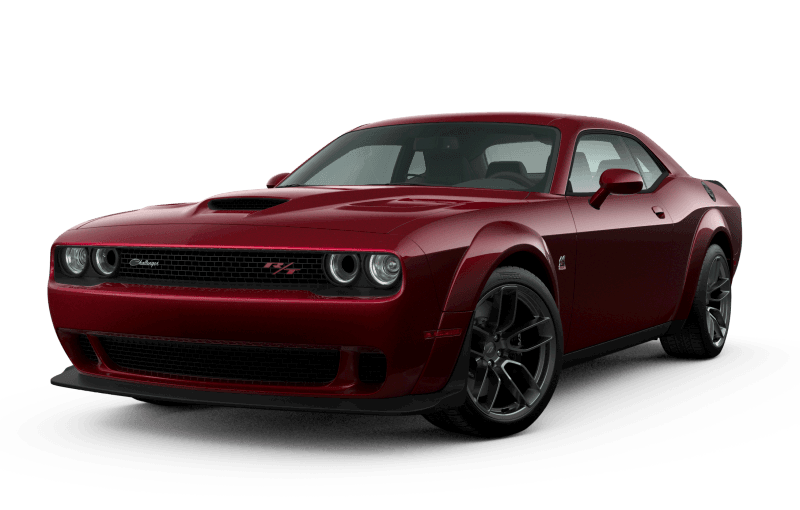Dodge Challenger 2021 Scat Pack 392 Widebody - Rouge Intense
