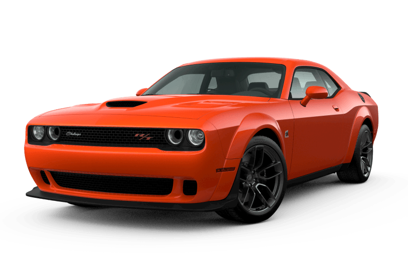 Dodge Challenger 2021 Scat Pack 392 Widebody - Orange Brûlé