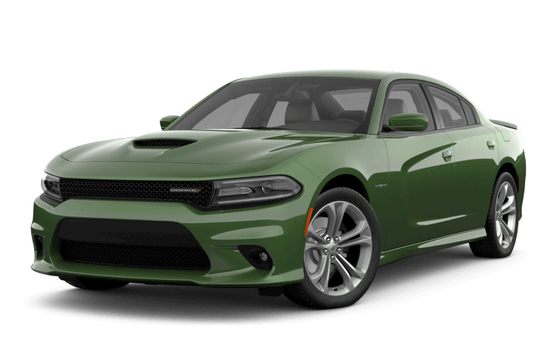 2021 Dodge Charger R/T - F8 Green Metallic