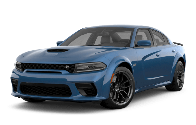 Dodge Charger 2021 Scat Pack 392 Widebody - Bleu glacial