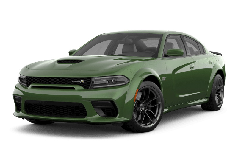 2021 Dodge Charger Scat Pack 392 Widebody - F8 Green Metallic