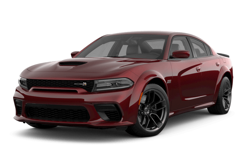 Dodge Charger 2021 Scat Pack 392 Widebody - Couche nacrée rouge intense