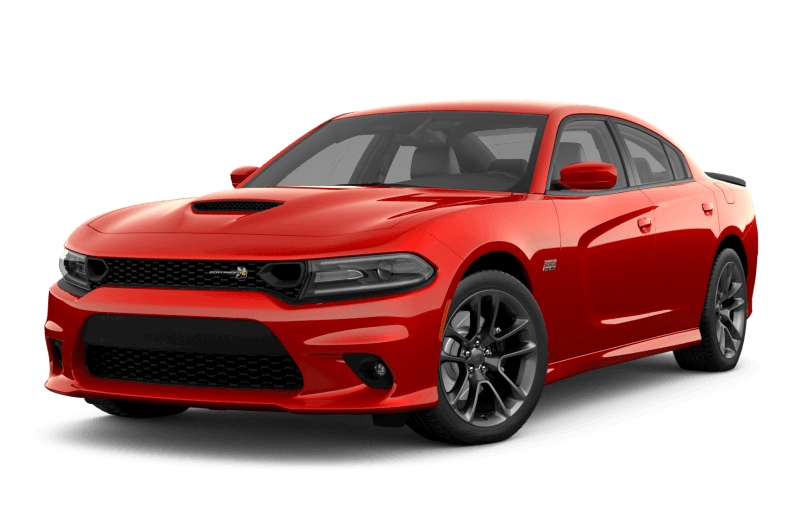Dodge Charger 2021 Scat Pack 392 - Rouge écarlate