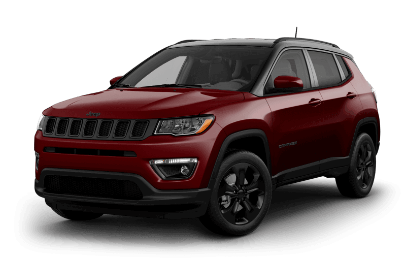 Jeep® Compass 2021 Altitude - Rouge velours