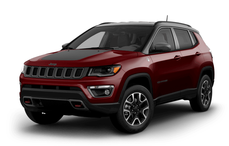 Jeep® Compass 2021 TrailhawkMD Elite - Rouge velours