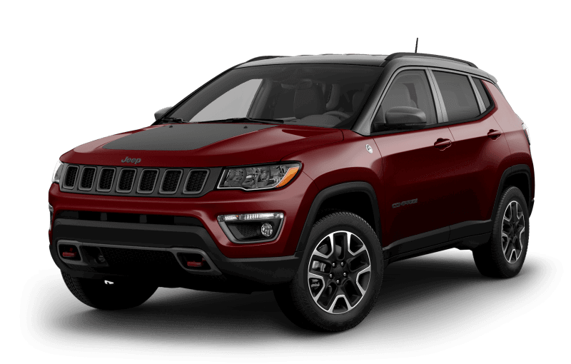 Jeep® Compass 2021 TrailhawkMD - Rouge velours
