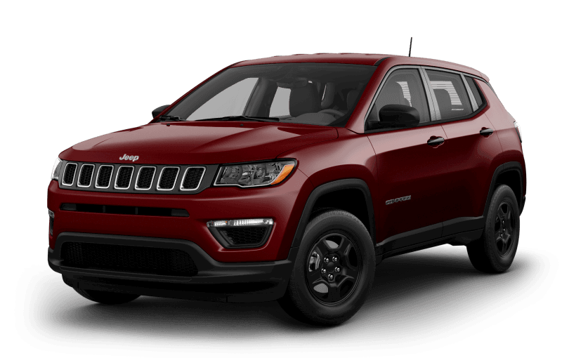 Jeep® Compass 2021 Sport - Rouge velours
