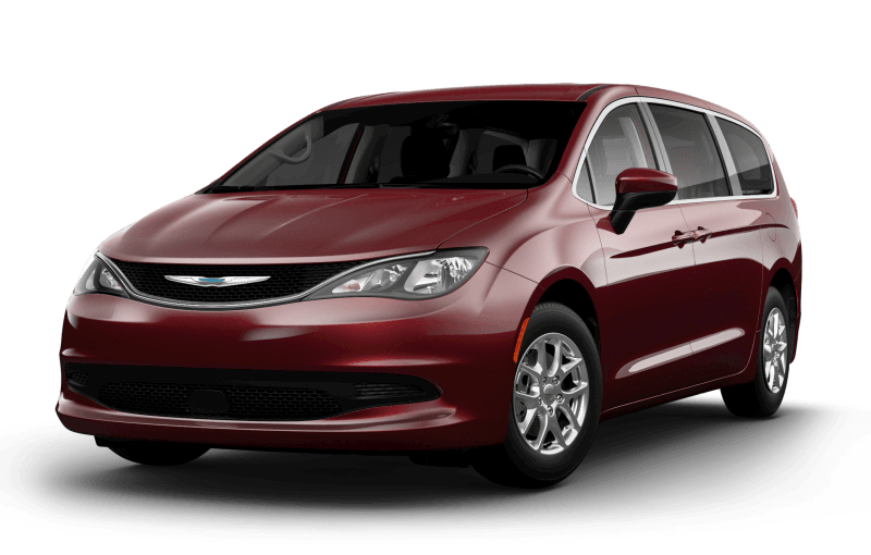 Chrysler Grand Caravan 2021 SXT - Couche nacrée rouge velours