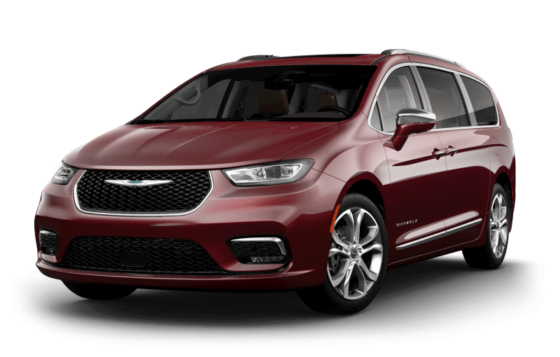 Chrysler Pacifica 2021 Pinnacle - Couche nacrée rouge velours