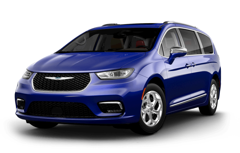 2021 Chrysler Pacifica Limited - Ocean Blue Metallic