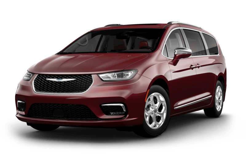 Chrysler Pacifica 2021 Limited - Couche nacrée rouge velours