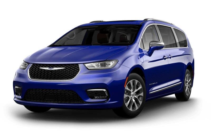 Chrysler Pacifica Hybrid 2021 Pinnacle - Bleu océan métallisé