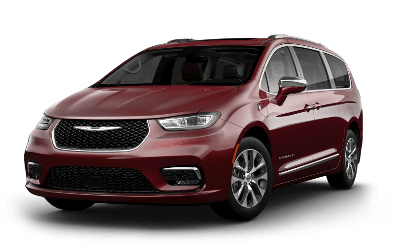 Chrysler Pacifica Hybrid 2021 Pinnacle - Couche nacrée rouge velours