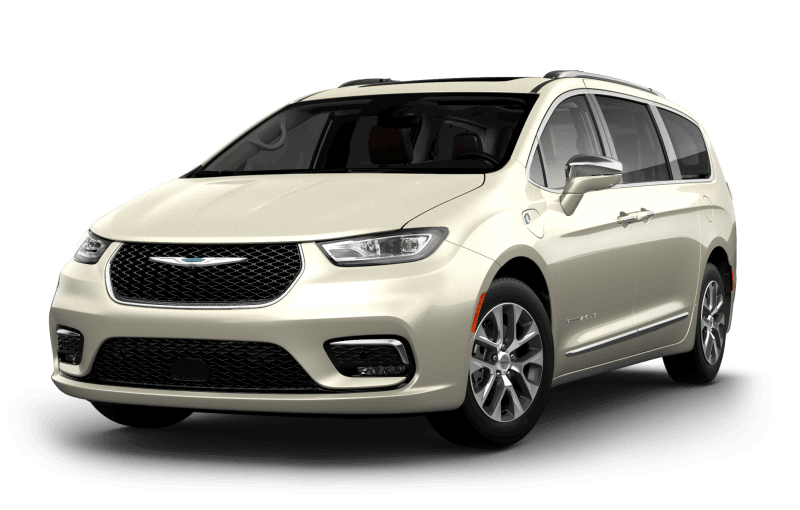 Chrysler Pacifica Hybrid 2021 Pinnacle - Couche nacrée blanc luxueux