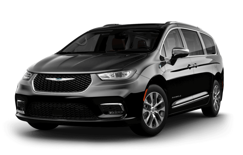 Chrysler Pacifica Hybrid 2021 Pinnacle - Couche nacrée cristal noir étincelant