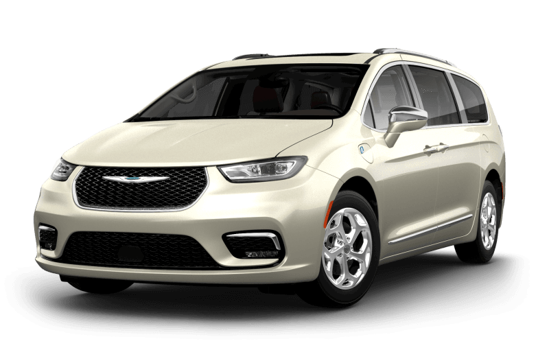 Chrysler Pacifica Hybrid 2021 Limited - Couche nacrée blanc luxueux