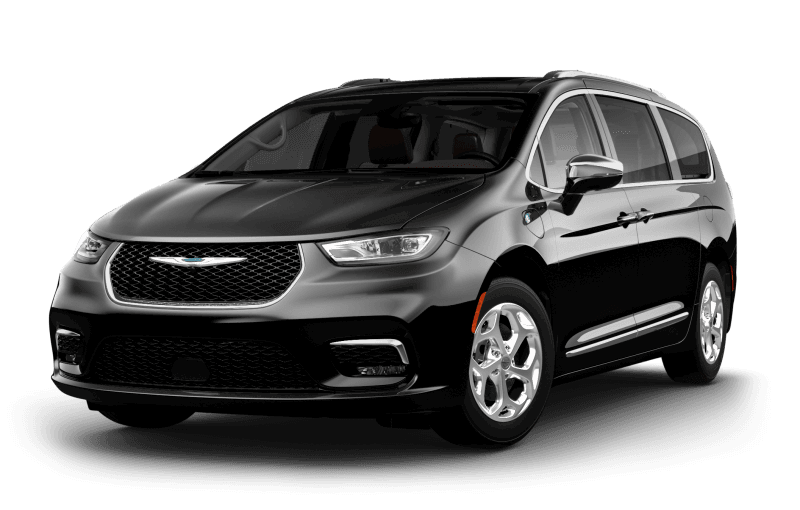 2021 Chrysler Pacifica Hybrid Limited - Brilliant Black Crystal Pearl
