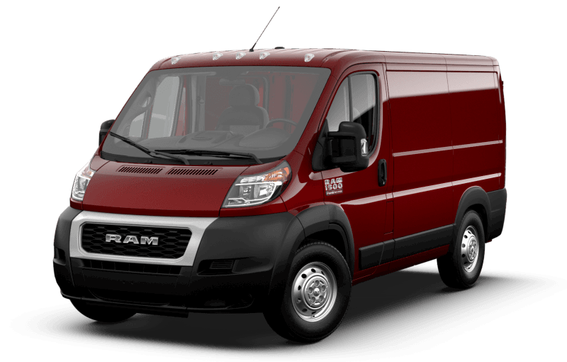 2021 Ram ProMaster® 1500 - Deep Cherry Red Crystal Pearl