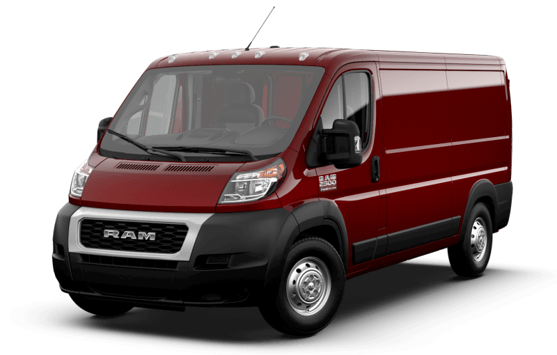 2021 Ram ProMaster® 2500 - Deep Cherry Red Crystal Pearl
