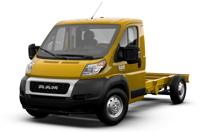 2021 Ram ProMaster® 3500 Chassis Cab - Broom Yellow