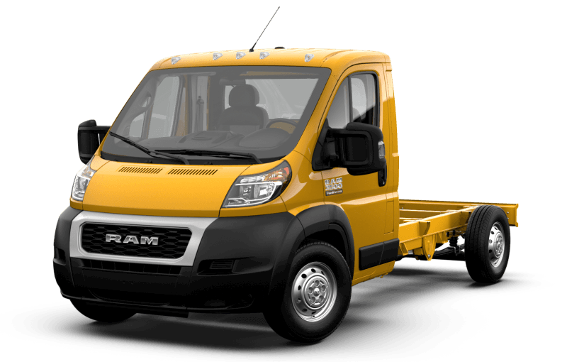 2021 Ram ProMaster® 3500 Chassis Cab - School Bus Yellow