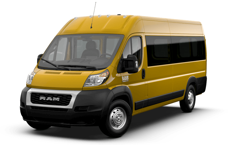 2021 Ram ProMaster® 3500 Window Van - Broom Yellow