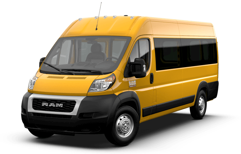 2021 Ram ProMaster® 3500 Window Van - School Bus Yellow