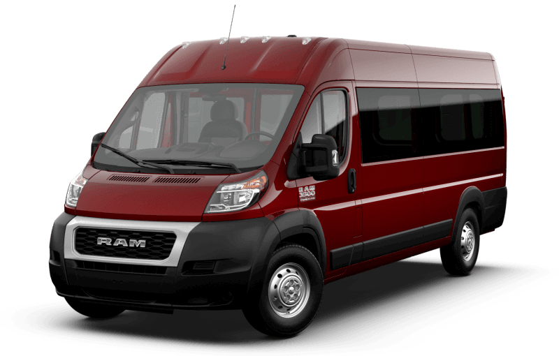 2021 Ram ProMaster® 3500 Window Van - Deep Cherry Red Crystal Pearl