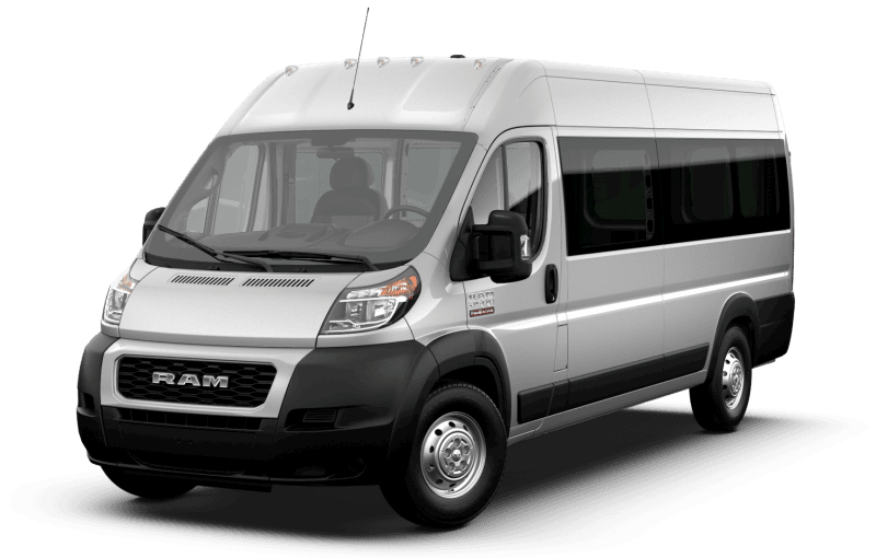 2021 Ram ProMaster® 3500 Window Van - Bright Silver Metallic