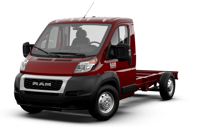 2021 Ram ProMaster® 3500 Cutaway - Deep Cherry Red Crystal Pearl