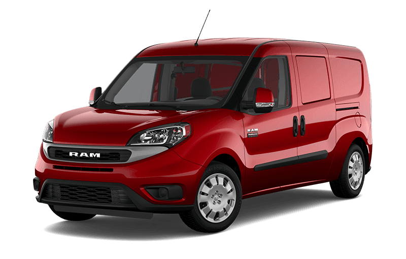 2021 Ram ProMaster City® Cargo Van SLT - Deep Red Metallic