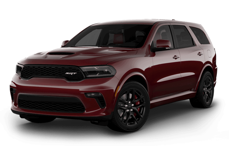 Dodge Durango 2021 SRT 392 - Couche nacrée rouge intense