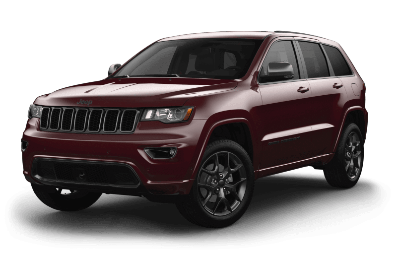 2021 Jeep® Grand Cherokee 80th Anniversary Edition - Velvet Red Pearl