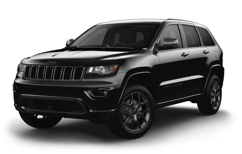 2021 Jeep® Grand Cherokee 80th Anniversary Edition - Diamond Black Crystal Pearl