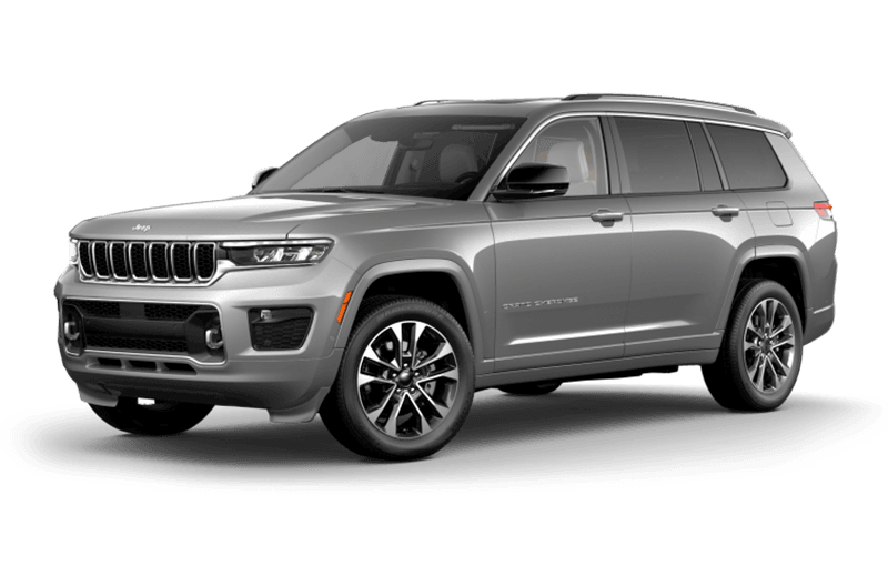All-New 2021 Jeep® Grand Cherokee L Overland - Silver Zynith
