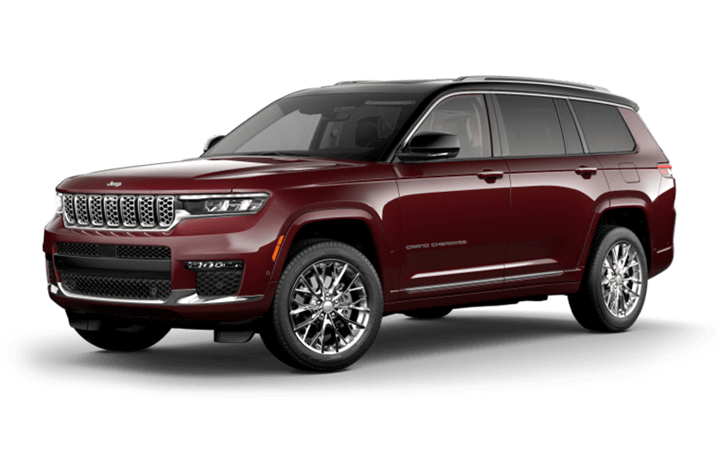 All-New 2021 Jeep® Grand Cherokee L Summit - Velvet Red Pearl