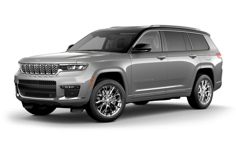 All-New 2021 Jeep® Grand Cherokee L Summit - Silver Zynith