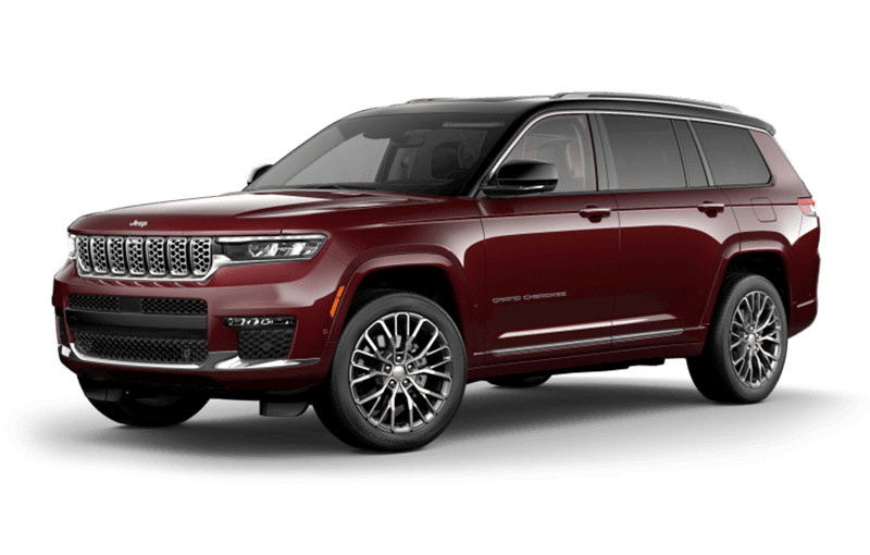 All-New 2021 Jeep® Grand Cherokee L Summit Reserve - Velvet Red Pearl