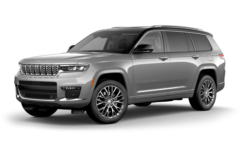 All-New 2021 Jeep® Grand Cherokee L Summit Reserve - Silver Zynith