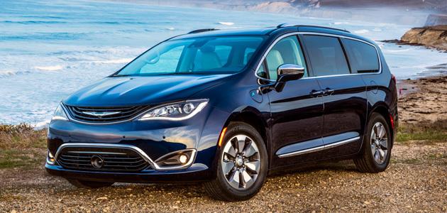 2018 Chrysler Pacifica Hybrid Minivan Models Chrylser Canada