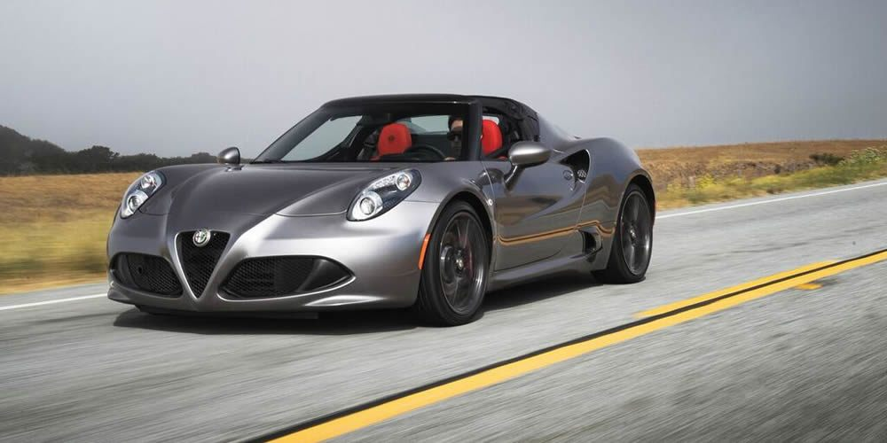 hagerty hot list 2016 alfa romeo 4c spider. Black Bedroom Furniture Sets. Home Design Ideas